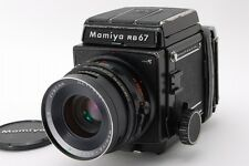 【Exc++++】 Mamiya RB67 Pro S w/ C 90mm F3.8 Lens 120 Film Back From Japan #121