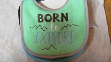 Baby Bibs ~ Self Closure ~ 4 Pack ~ Designed for Little Hands ~ Funny Sayings