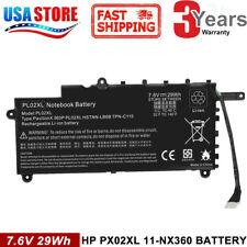 Battery PL02XL for HP Pavilion 11 X360 11-N010DX 11-N030TU 751875-001