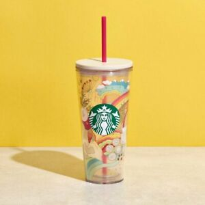 STARBUCKS Summer 2021 Joy of Connection Cold Cup 20oz 繽紛彩虹凍杯