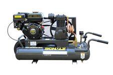 Schulz Gas Air Compressor - 5.5Hp 140Psi 8Gal Twin Tank-Portable Msl-15Max