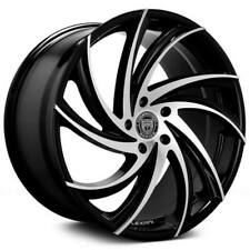 "4ea 18"" Lexani Wheels Twister Gloss Black Machined Rims (S12)"