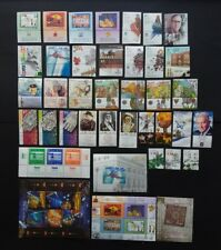 Israel 2006 Complete Year Set Of Stamps Issues 43 Stamps +3 Souvenir Sheets