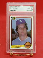 Steve Howe 1983 Donruss #630 L. A. Dodgers PSA 10, Univ. of Michigan Pitcher