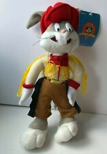 More details for vintage bugs bunny looney tunes  warner brothers plush toy 12 inches tag (k6)