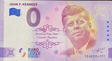 BILLET 0 EURO JOHN F. KENNEDY ANNIVERSARY  2021 NUMERO DIVERS
