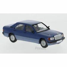 Mercedes Benz 190E W201 1/87 Brekina Starmada (blue)