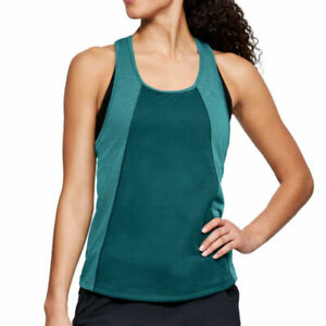Under Armour UA Threadborne Ladies Fashion Sleeveless Sports Running Vest XL