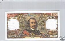 FRANCE 100 FRANCS CORNEILLE 2.6.1977 W.1085 N° 2712437318