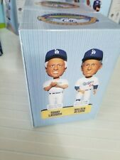 NIB Tommy Lasorda Walter Alston Los Angeles Dodgers 2012 SGA Bobblehead 50th