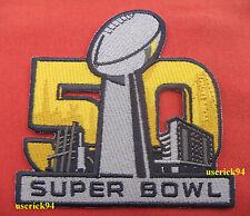 Super Bowl 50 Superbowl Patch Carolina Panthers vs Denver Broncos