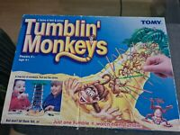 Vintage Tomy Tumblin' Monkeys Game Toy Family Board Game - Tumbling