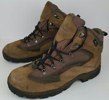 Columbia Men's Size 13 Bonanza Peak Tan Leather Waterproof Outdoor Hiking Boots
