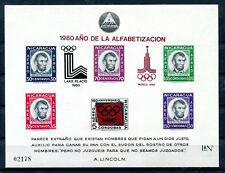 Nicaragua Block 126 postfrisch / Olympiade ...............................2/2028