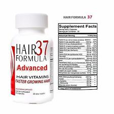 Hair Formula 37 Advanced Growth Supplements for Women Essentials Skin and Nails