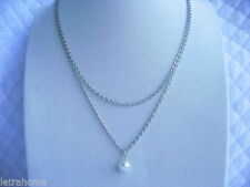 "Silver Plated Beauty 18 - 19.99"" Fine Necklaces & Pendants"