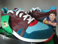Diadora N9000 x Hanon Saturday Special Teal Blue Leather Sz US 11.5 Rare Transit