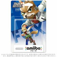 NINTENDO amiibo FOX Wii U/3DS  JAPAN Import Gift