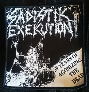 Sadistik Exekution 30 Years Patch Death Metal Dave Slave Rok Rev Kris Hades