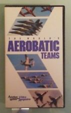 THE WORLD'S AEROBATIC TEAMS aviation week video magazine vol 2 #1 VHS VIDEOTAPE