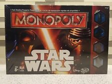 Monopoly Star Wars Disney Parker Brothers Hasbro NEW AND SEALED
