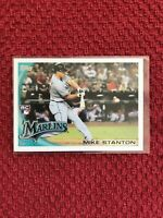 2010 Topps Update Mike Stanton #US-50 Baseball RC Rookie Card Marlins RC🔥