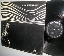 JOE HOUSTON blows all nite long strong VG+ vinyl condition Crown 5006 HI-FI LP