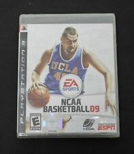 NIB Playstation 3 Ps3 Game NCAA Basketball 09 College ESPN EA Sports New Sealed