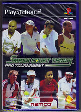 Smash Court Tennis Pro Very Good Playstation2 PlayStation 2 Video Games
