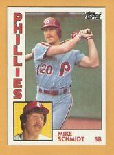 1984 Topps Baseball Singles 601-792 Mike Schmidt Tom Seaver Pete Rose S7B4