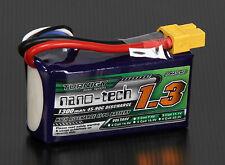 Turnigy Nano-Tech 1300mAh 3S 11.1V 45-90C Lipo Battery Pack RC Plane Heli Car