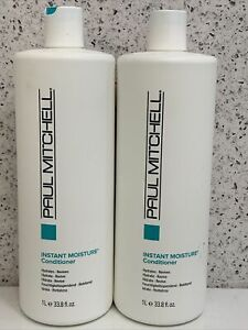 2xPaul Mitchell Instant Moisture Conditioner 33.8oz new