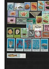 Worldwide: Marine Life; 1st Lot +100 different stamps, Mint, EBWW061