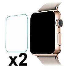 2 X 9H Hard tela de vidro temperado película protetora para Apple Watch Iwatch 1 2 3 4