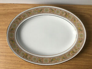 "Vintage 1970s Noritake Autumn Time 2258 11.5"" (29cm) Oval Serving Plate Platter"