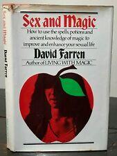 SEX AND MAGIC: MAGIC TO IMPROVE SEXUAL LIFE - David Farren, 1st Ed, 1975 MAGICK