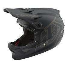 Troy Lee Designs D3 Fiberlite Helmet Mono Black XS