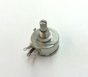 25K Ohm 5 Watt Wire Wound, Short Shaft Potentiometer - Centralab WN253