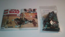 Lego Star Wars Tatooine Battle Pack 75198 No Mini Figures