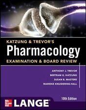 Katzung & Trevor's Pharmacology Examination and Board Review,10th Edition (Katzu
