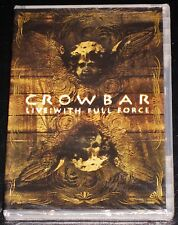 Crowbar: Live With Full Force DVD 2007 Bonus Features Concert & Videos USA 0 NEW