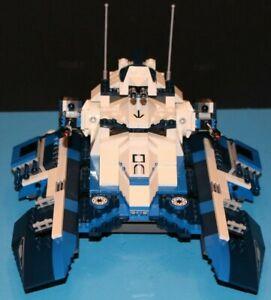 LEGO brick STAR WARS MOC 7679 Clone Wars 501st Legion BLUE REPUBLIC FIGHTER TANK
