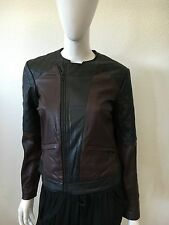 NWT WOMEN'S JOES JEANS SEAMSTRESS MOTO 100% LEATHER JACKET SIZE XS