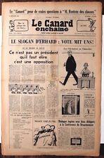 Le CANARD ENCHAINE numero 2344 du 22 septembre 1965