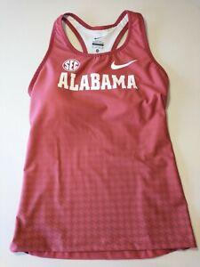 Nike Women's Team Alabama Track & Field Team Issued Singlet XS 825123 NWOT @kw1