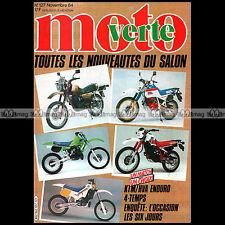 MOTO VERTE N°127 J-M BAYLE HUSQVARNA 510 TE KTM 600 XC 125 250 MX PICHON 1984
