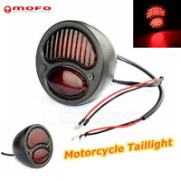 Motorcycle Rear Running Black Tailight For Harley Sportster Road King Cafe Racer