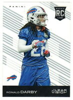 2015 Panini Clear Vision #160 RONALD DARBY RC Rookie Buffalo Bills