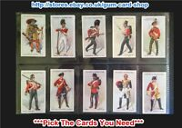 ☆ Player's - Regimental Uniforms 2nd Series 1913 (G/F) *Please Select*