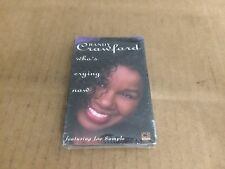 RANDY CRAWFORD WHO'S CRYING NOW FACTORY SEALED CASSETTE SINGLE